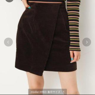 スライ(SLY)のSLY コーデュロイスカート(ミニスカート)