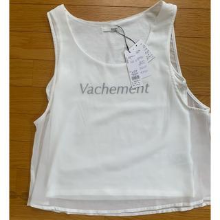 リゼクシー(RESEXXY)のシースルーノースリーブ(Tシャツ(半袖/袖なし))