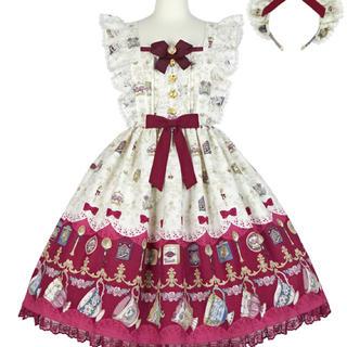 Angelic Pretty - Rose Tea GardenジャンパースカートSet