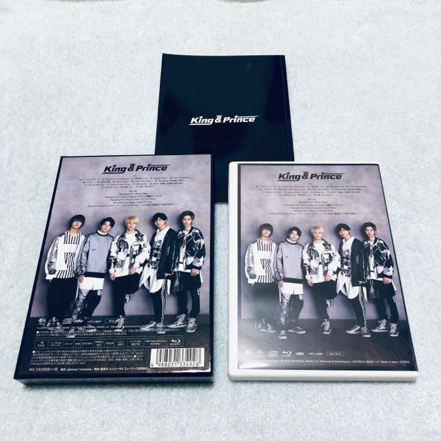 Johnny's(ジャニーズ)のKing & Prince 1stアルバム 初回限定盤A CD+Blu-ray エンタメ/ホビーのCD(ポップス/ロック(邦楽))の商品写真