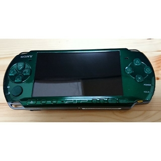 PlayStation Portable - 【希少超美品】PSP-3000 グリーン ガラスコーティング済み