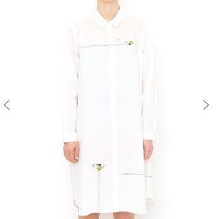 グラニフ(Design Tshirts Store graniph)のグラニフ スヌーピー シャツワンピース(シャツ/ブラウス(長袖/七分))