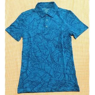 バナナリパブリック(Banana Republic)のバナナリパブリックホヌ柄デザインポロシャツ メンズS(ポロシャツ)
