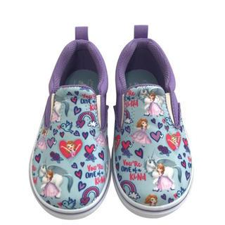ホーキンス(HAWKINS)の新品未使用𖤣𖥧𖥣。ホーキンス ソフィア柄スリッポン 19cm 登園靴 (スニーカー)