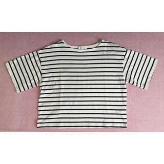 ローリーズファーム(LOWRYS FARM)のボーダー カットソー   Tシャツ(カットソー(半袖/袖なし))