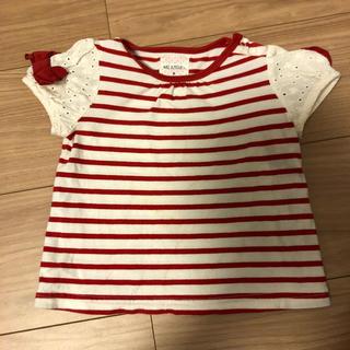ブランシェス(Branshes)の★BRANSHES★ボーダーTシャツ 80cm(Tシャツ)