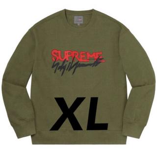 Supreme - Supreme Yohji Yamamoto Crewneck オリーブ XL