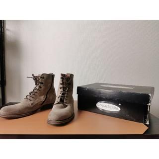 COQUETERRA コケテラ スウェード サイドジップブーツ(ブーツ)