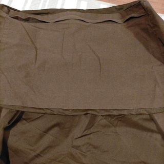 MUJI (無印良品) - 値体にフィットするソファ カバー ダークブラウン