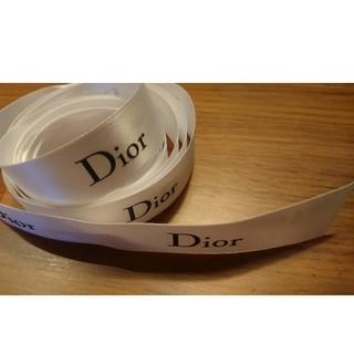 ディオール(Dior)のDior ディオール リボン ギフト用 白(ラッピング/包装)