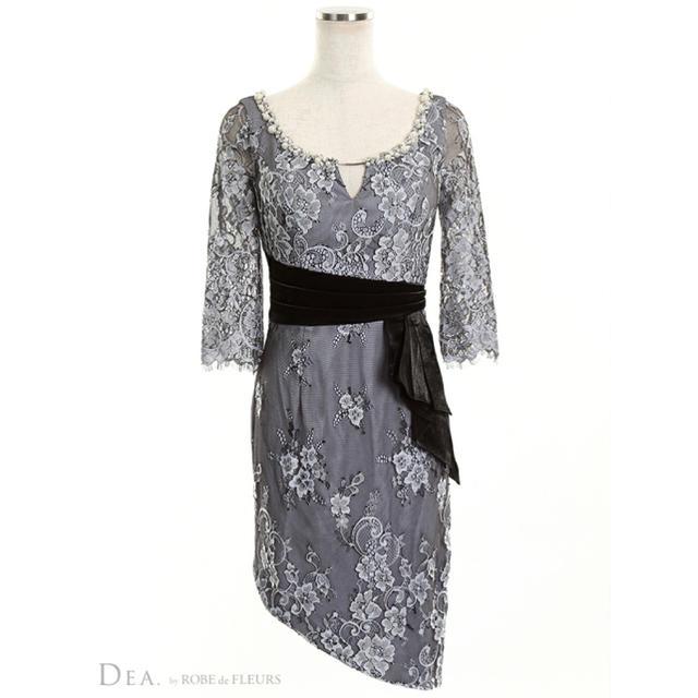 ROBE(ローブ)のDEAbyROBEdeFLEURS*ミニドレス ローブドフルール レディースのフォーマル/ドレス(ナイトドレス)の商品写真