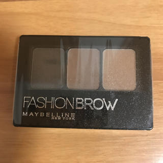 メイベリン(MAYBELLINE)の新品 メイベリン ファッションブロウ パレット BR-2 自然な茶色(3.0g)(アイブロウペンシル)