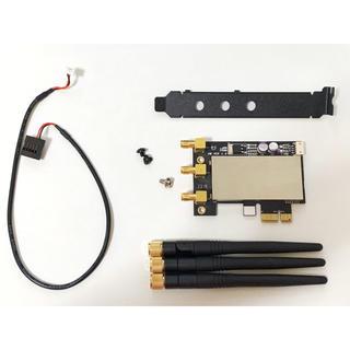 アップル(Apple)のBCM94331 Hackintosh用 PCIe 無線LAN/BTアダプター(PCパーツ)
