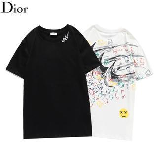 ディオール(Dior)のDIOR 1404 プリント 男女兼用 2枚8000円(Tシャツ/カットソー(半袖/袖なし))