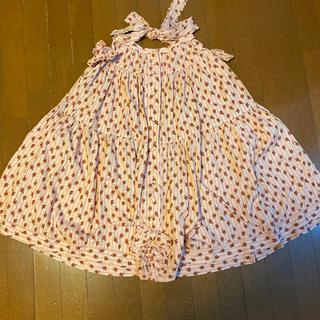 ピンクハウス(PINK HOUSE)の美品ピンクハウス の小花柄コットンロングスカートサイズS位PINK HOUSE (ロングスカート)