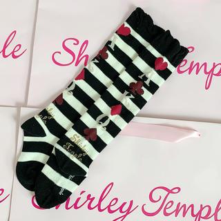 Shirley Temple - シャーリーテンプル🎀トランプ ソックス 131415