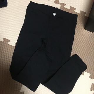 GU - GU キッズ 男女兼用 ストレッチ デニム ジーンズ パンツ