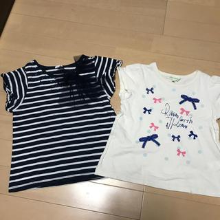 サンカンシオン(3can4on)の110サイズTシャツ2点(Tシャツ/カットソー)