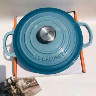 ルクルーゼ(LE CREUSET)の食器24cm 鋳鉄 Creuset エナメル鍋(食器)