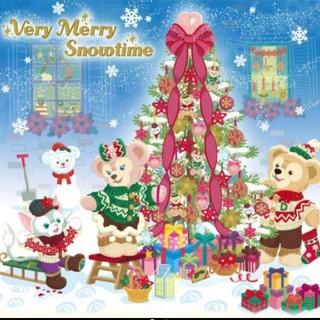 ◼️四角ビーズ◼️3126ダイヤモンドアートダッフィー クリスマス