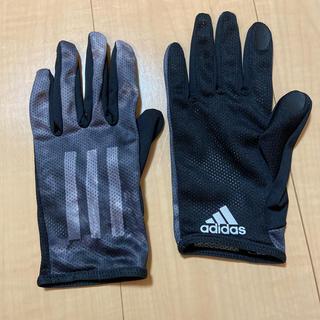 アディダス(adidas)のランニング用手袋(手袋)