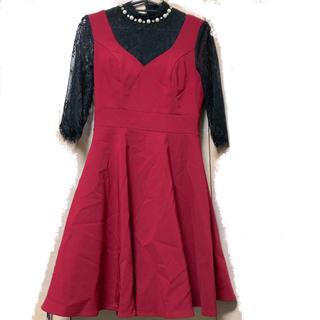 デイジーストア(dazzy store)のDazzyStore*ハイネックミニドレス ナイトドレス(ナイトドレス)