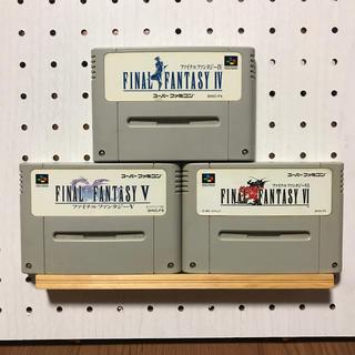 スーパーファミコン(スーパーファミコン)のファイナルファンタジー4 5 6(家庭用ゲームソフト)