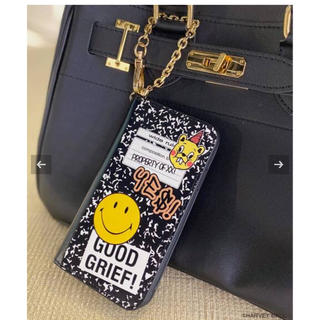 ドゥーズィエムクラス(DEUXIEME CLASSE)のMUSE 限定 GOOD GRIEF! SMILE iphone cover(iPhoneケース)