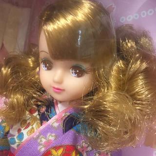 タカラトミー(Takara Tomy)のきものきらちゃん 新品未開封品 着物 タカラ 日本製(ぬいぐるみ/人形)