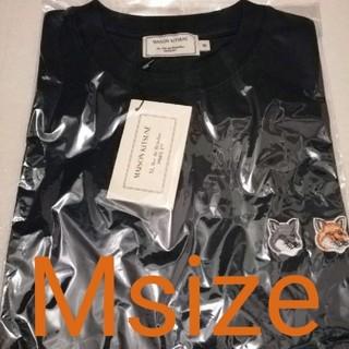 新品 メゾンキツネ Tシャツ ダブル フォックス