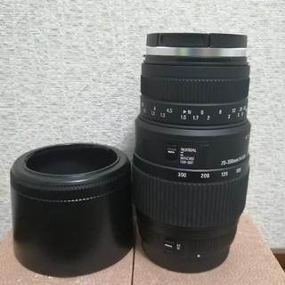 シグマ(SIGMA)のsigma70-300 DGマクロ(キャノン用)(レンズ(ズーム))