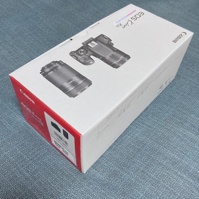 Canon(キヤノン)のキヤノン EOS Kiss X9i ダブルズームキット スマホ/家電/カメラのカメラ(デジタル一眼)の商品写真