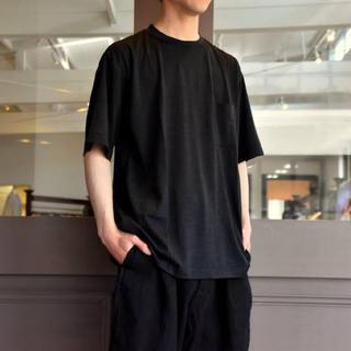 COMOLI - 19ss comoli ウール天竺 半袖クルー Tシャツ