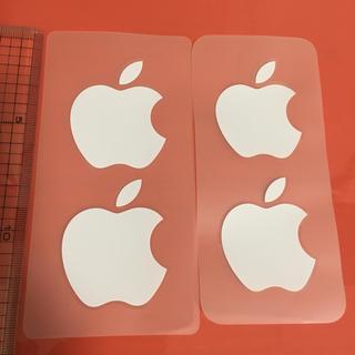 Apple - 【匿名配送★新品】Apple★アップルマーク★シール★2枚組★ステッカー★純正
