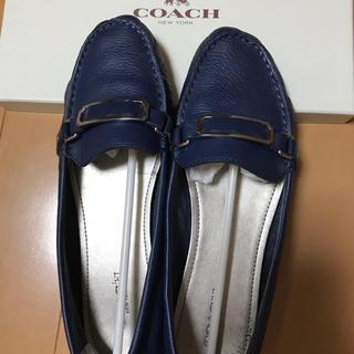 コーチ(COACH)のcoach ローファー 女性 7.5M コ-チ(ローファー/革靴)
