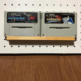 スーパーファミコン(スーパーファミコン)のファイアーエムブレム 2本セット(家庭用ゲームソフト)