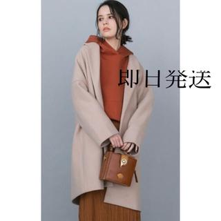 メイソングレイ(MAYSON GREY)の新品タグ付き 【socolla】ハーフコート(ロングコート)