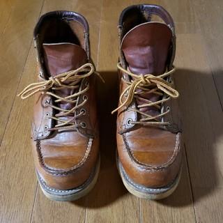 レッドウィング(REDWING)のレッドウィング 875 スクエアステッチ 犬タグ 6ブーツ ビンテージ 24.5(ブーツ)
