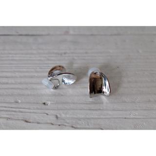 プラージュ(Plage)の𓃇curl earring𓃇 silver(イヤリング)