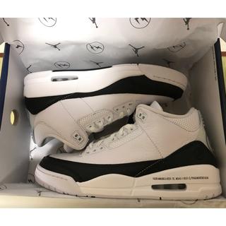 ナイキ(NIKE)のFragment × Nike Air Jordan 3  US9.5 27.5(スニーカー)
