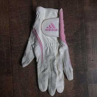 アディダス(adidas)のadidas アディダス ゴルフグローブ 左 サイズM レディース (その他)
