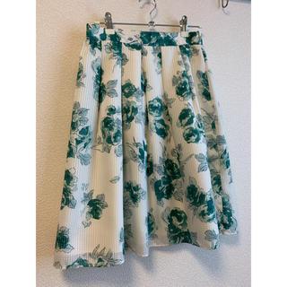 Debut de Fiore - 花柄 フレアスカート