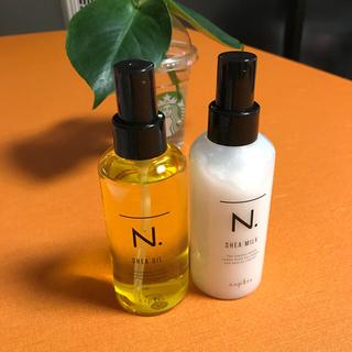 NAPUR - ナプラ N.シアオイル・シアミルク セット エヌドット SHEA OIL
