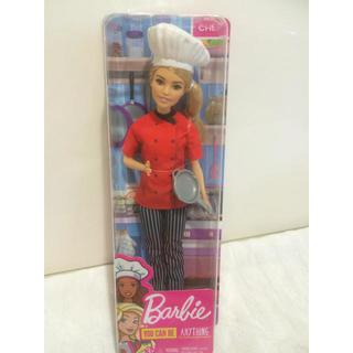 バービー(Barbie)のバービー シェフ かわいい barbie doll バービー人形 新品(ぬいぐるみ/人形)