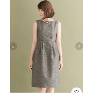 アーバンリサーチロッソ(URBAN RESEARCH ROSSO)の《美品》ROSSO ジャガードドレス(ミディアムドレス)