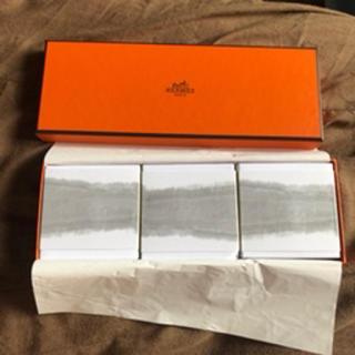 エルメス(Hermes)の新品 3点セットエルメス 李氏の庭 パフュームドソープ 100g HERMES (ボディソープ/石鹸)