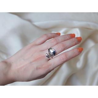 ミスティック(mystic)のスプーンリング《silver925メッキ》(リング(指輪))