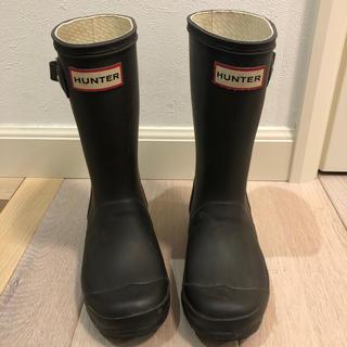 ハンター(HUNTER)のHunter★キッズレインブーツ(UK12)18cm(長靴/レインシューズ)