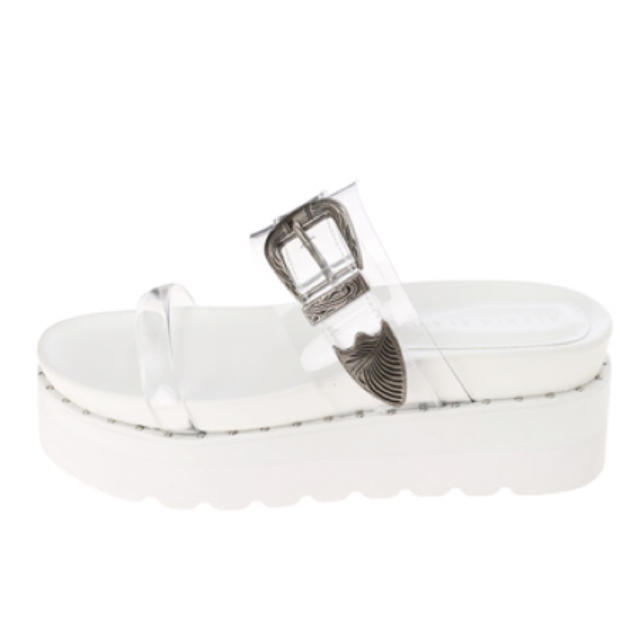 ALEXIA STAM(アリシアスタン)のアリシアスタン   クリアサンダル   L レディースの靴/シューズ(サンダル)の商品写真
