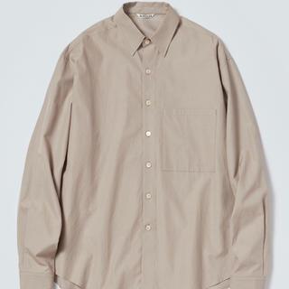 ジョンローレンスサリバン(JOHN LAWRENCE SULLIVAN)のAURALEE  light brownシャツ(シャツ)